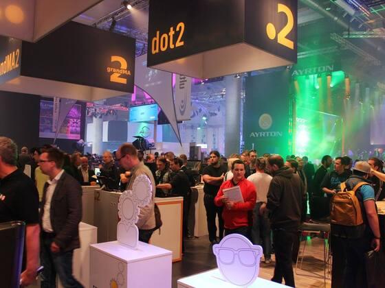dot2 at Prolight + Sound 2015